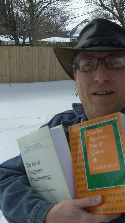 Two Books By Knuth